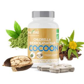 COCOON Rhodiola Chlorella Baobab Organic