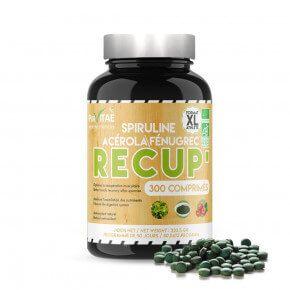RECOVERY XL Spirulina Acerola Fenugreek Organic