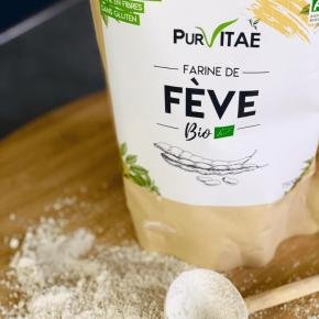 Farine de Fève Bio