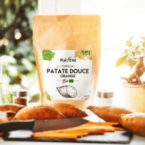 Farine de Patate Douce Bio