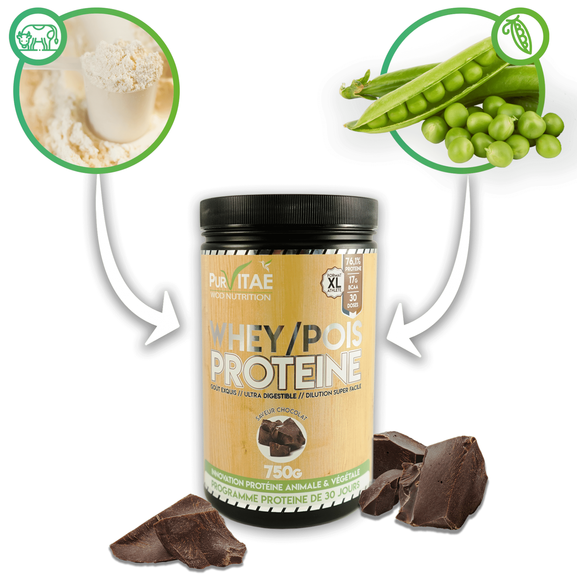 protéine pur vitae