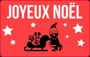 Carte Cadeau pour Noël